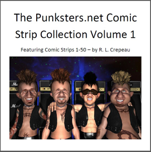 punksters comic strip collection e-book