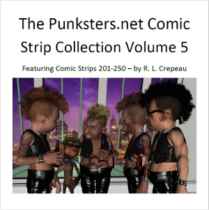 punksters comic strip collection volume 5