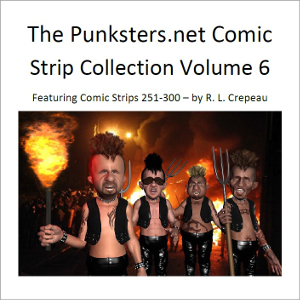 punksters comic strip collection number 6