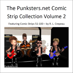 punksters.net comic strip collection volume two