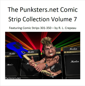 punksters comic strip collection volume 7